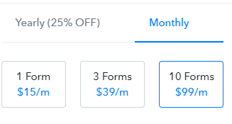 Pabbly Form Builder App Pricing